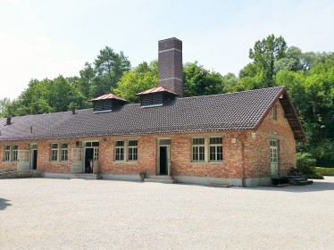 Gas chamber and new crematorium