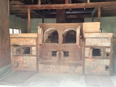 Old crematorium stove